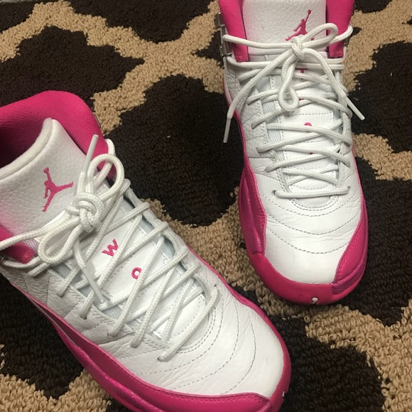 9e53990e8b53a7 Jordan Shoes - Air Jordan retro 12 GS vivid pink